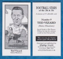Bolton Wanderers Ted Vizard 9